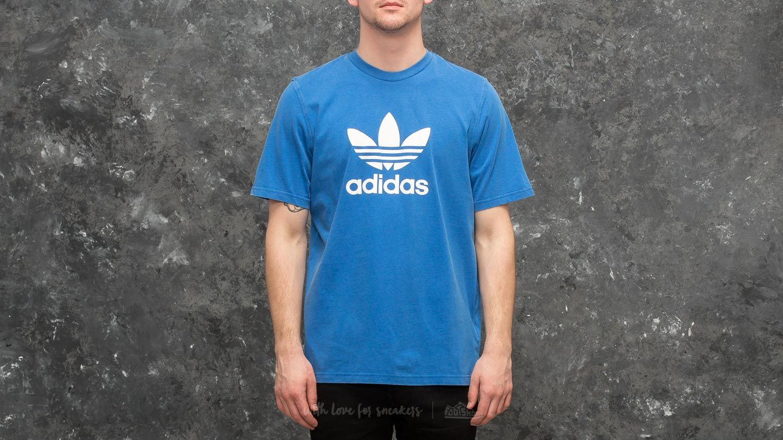 adidas Trefoil Tee Blue