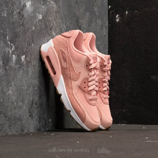 Nike Air Max 90 Leather Se GG Coral Stardust Rust Pink white