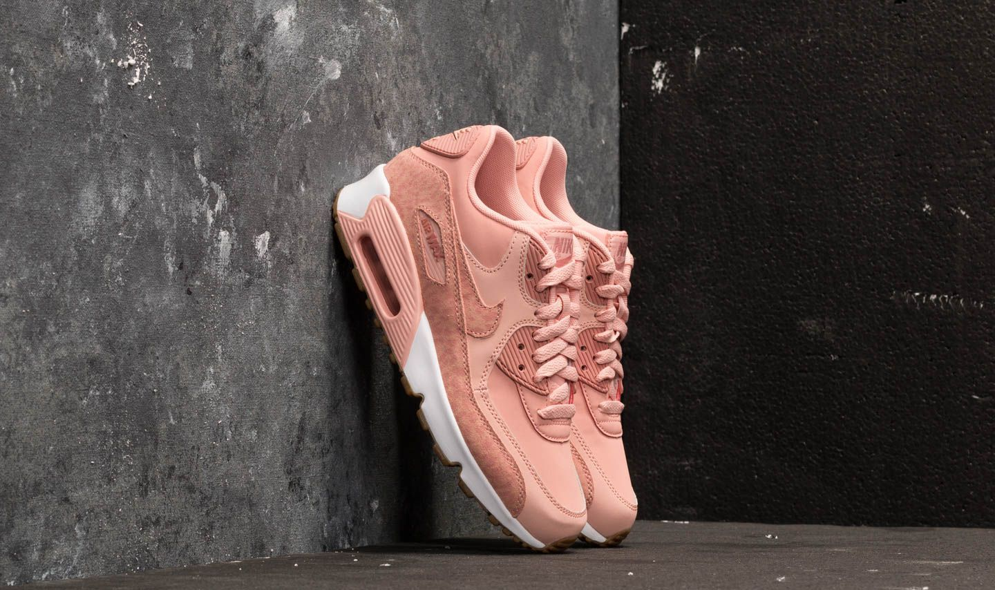 Nike Air Max 90 Leather SE GG Coral Stardust Rust Pink White | Footshop