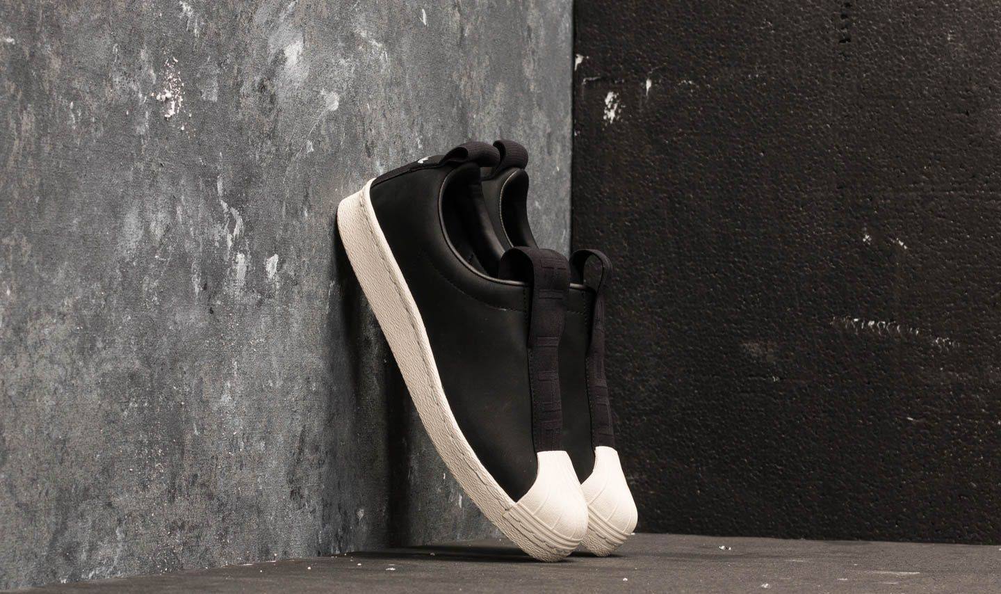 adidas Superstar BW3S Slip-on W Core Black/ Core Black/ Off White