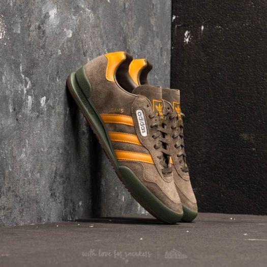 Moretón Premio Hamburguesa  Men's shoes adidas Jeans Super Branch/ Tactile Yellow/ Base Green | Footshop