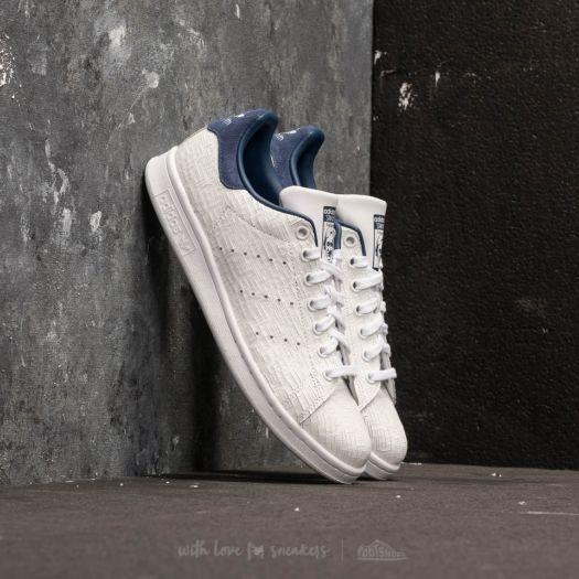 rivenditore online prezzo abbordabile miglior sito web adidas Stan Smith W Ftw White/ Ftw White/ Noble Indigo ...