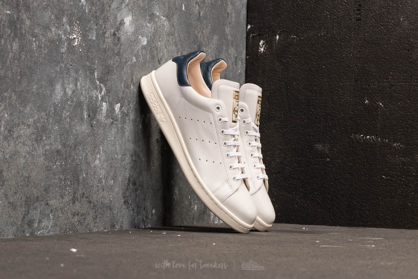 Männer adidas Stan Smith Recon Ftw White/ Ftw White/ Collegiate Navy