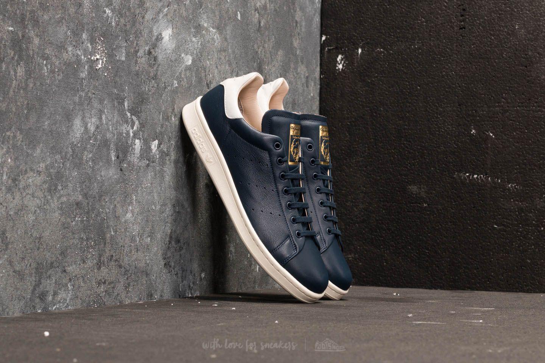 adidas Stan Smith Recon Ftw White  Ftw White  Collegiate Navy ... 24889743b
