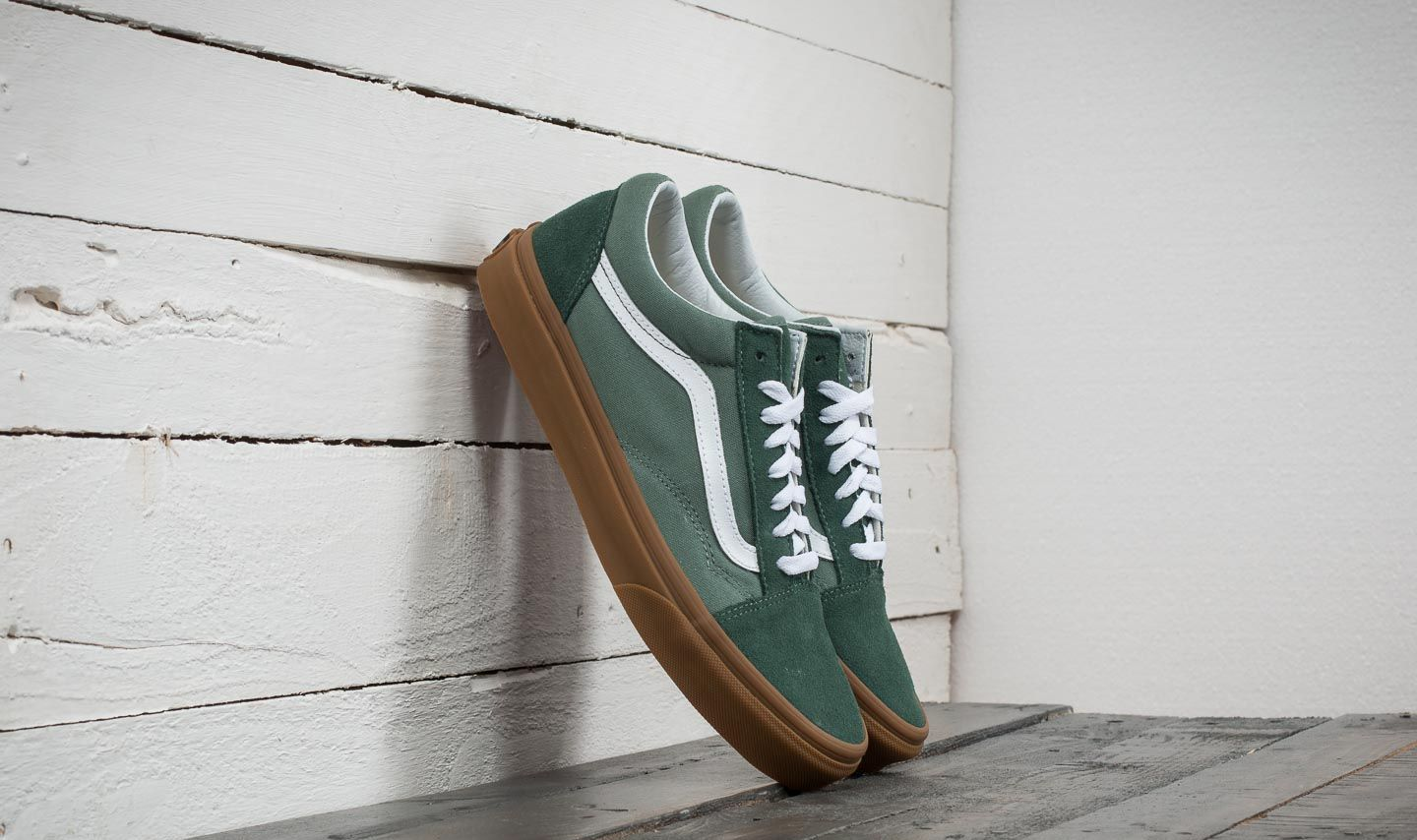 05d07928a8b Vans Old Skool Duck Green  Gum