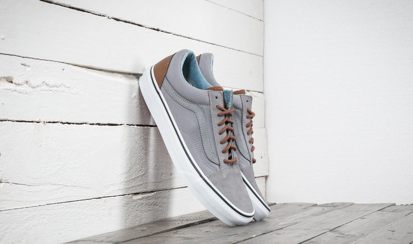 Vans Old Skool (C L) Frost Gray  Acid Denim  62b3d5309
