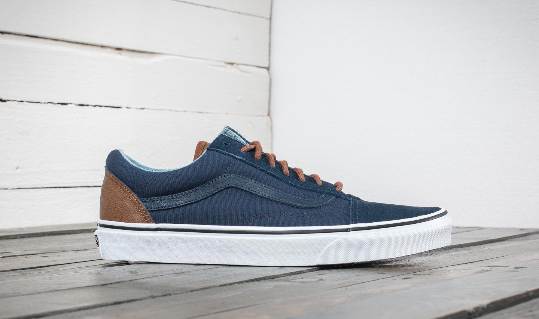 haute qualité Vans C&L Old Skool Sneakers (c&l) dress bleus