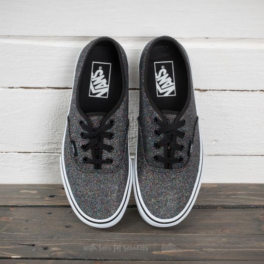 69cd5eac151a Vans Authentic (Glitter) Rainbow Black | Footshop