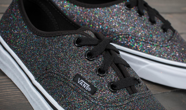 Vans AUTHENTIC Sneakersy niskie glitter rainbowblack