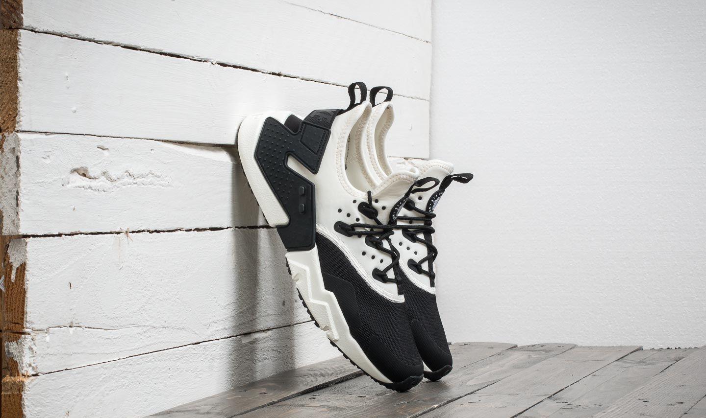 9b4e4efd70266 Nike Air Huarache Drift Black  Sail-White