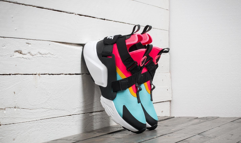 1cb5022ee080 Nike Air Huarache City W Bleached Aqua  Black-Racer Pink