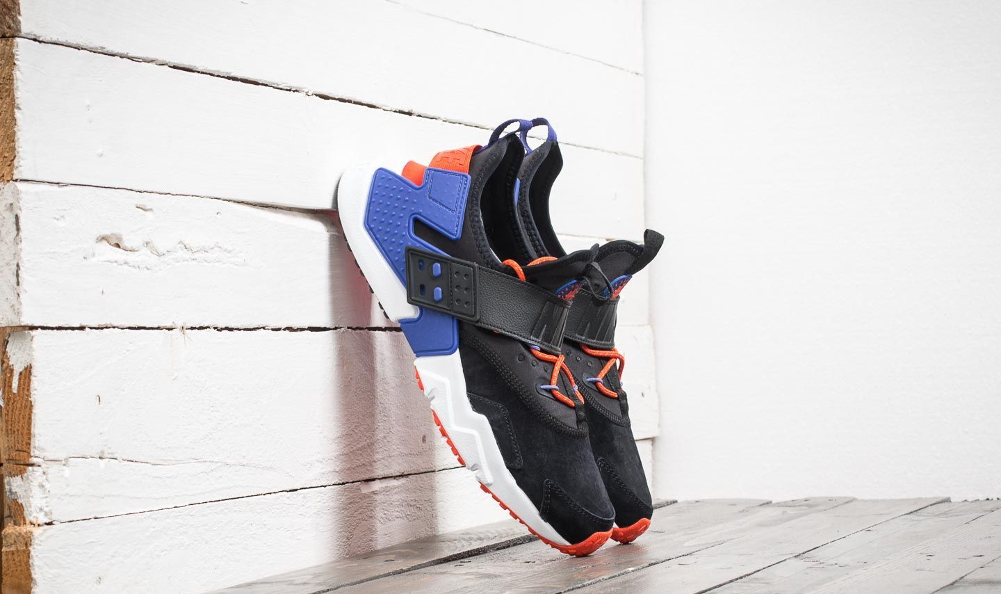 f309e4f833c Nike Air Huarache Drift Premium Black  Rush Violet-Rush Orange ...