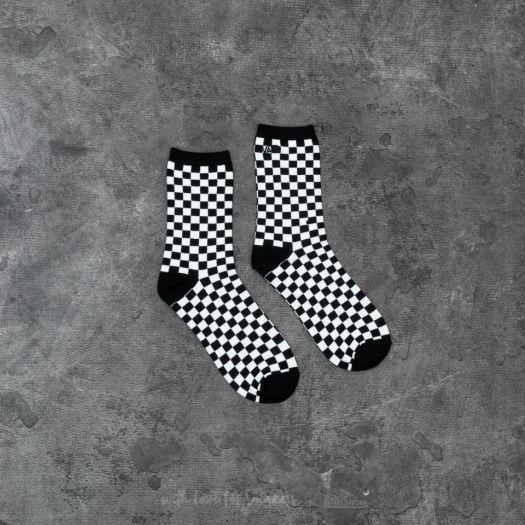 eb875cbc Vans Ticker Crew Socks Black White Checkerboard | Footshop