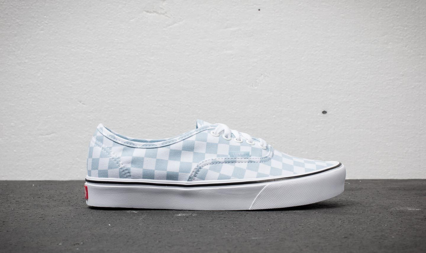 6c77a45f9ad Vans Authentic Lite (Canvas) Baby Blue  True White at a great price 55