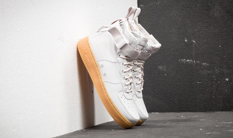 Nike W SF Air Force 1 MID Vast Grey Vast Grey | Footshop