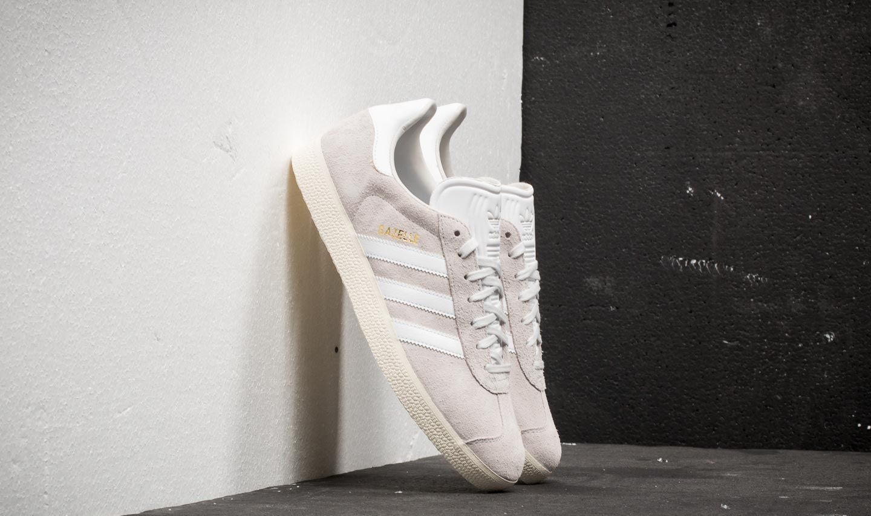 adidas Gazelle Crystal White Ftw White Cream White | Footshop