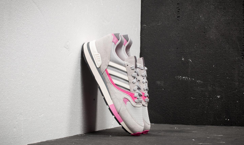 adidas Quesence Grey Two/ Shock Pink/ Grey Four