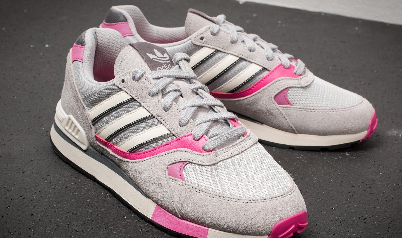 014d63bdda4 adidas Quesence Grey Two  Shock Pink  Grey Four a muy buen precio 52 €