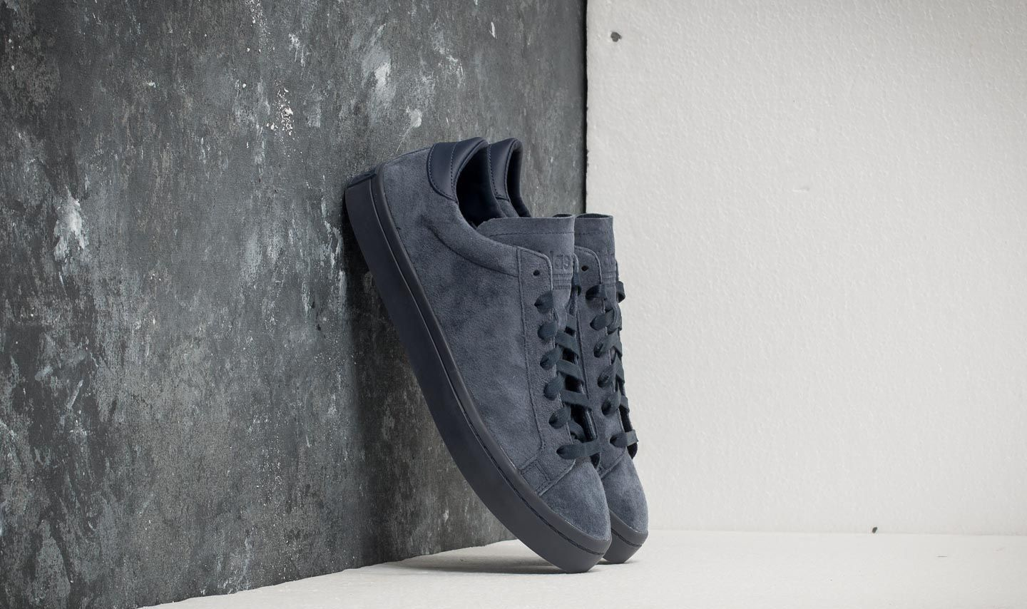 adidas Court Vantage Trace Blue  Trace Blue  Trace Blue at a great price 48 2fe8d3dfc