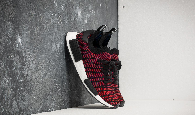 buty adidas nmd xr1 primeknit blue red