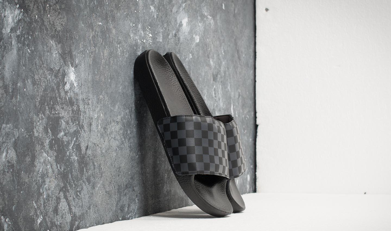 Vans Slide-On (Checkerboard) Black  Asphalt  ee837d61fa