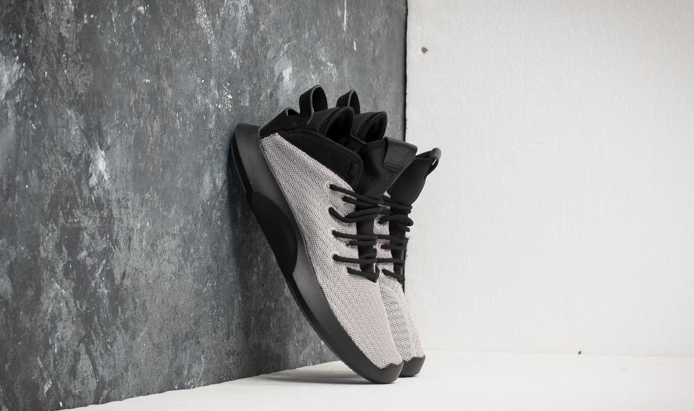 reputable site eb38a 52830 adidas Crazy 1 ADV Primeknit Silver Metallic Core Black Core Black   Footshop