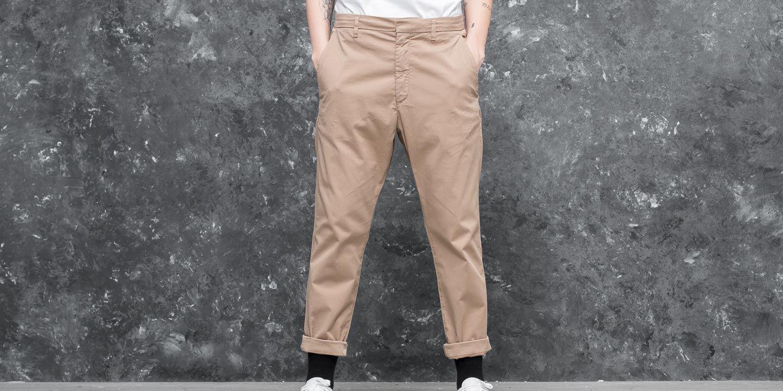 HOPE News Trouser Khaki Beige za skvělou cenu 1 190 Kč koupíte na Footshop.cz