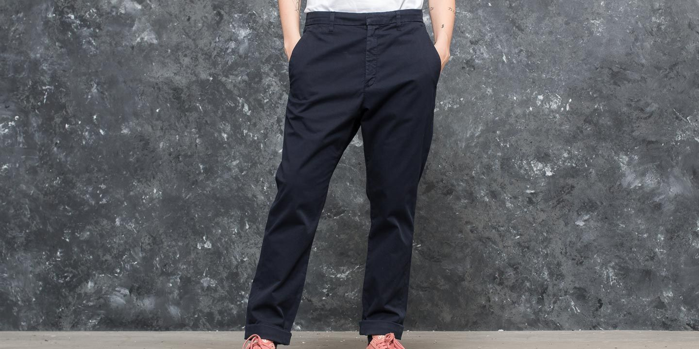 HOPE New Trouser Dark Blue