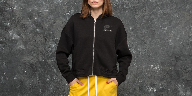 130d9117a7f Nike Sportswear Air Rally Varsity Jacket Black  Black