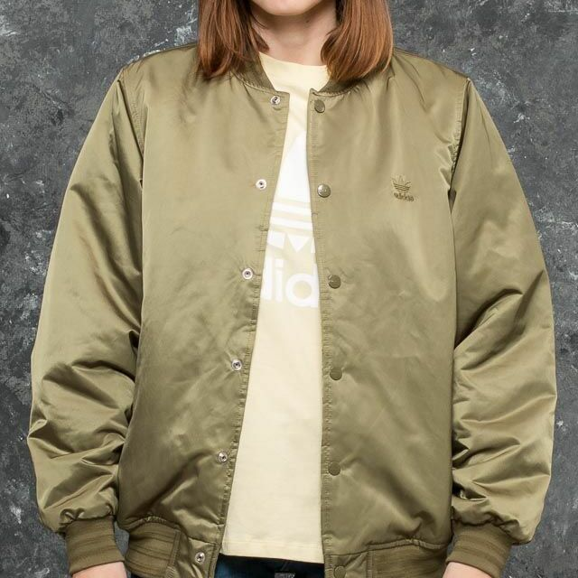 adidas Styling Complements Superstar Jacket Olive Cargo 40