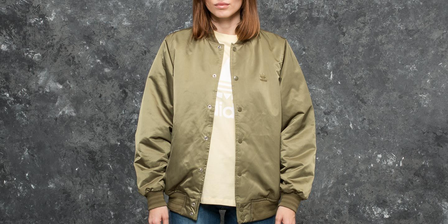 adidas Styling Complements Superstar Jacket Olive Cargo