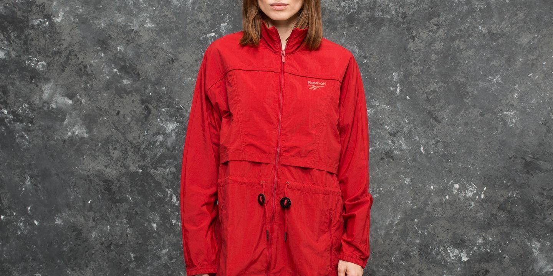 Reebok Crinke Woven Windbreaker Jacket Rich Magma za skvělou cenu 1 490 Kč koupíte na Footshop.cz