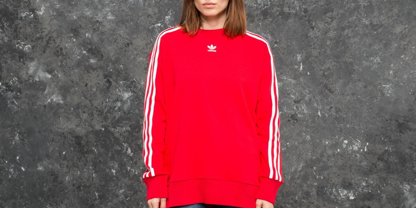 adidas Crew Sweater Radiant Red  d570addc6d4