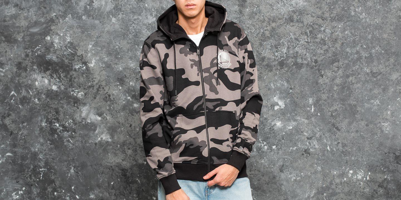 New Era BNG Fleece Golden State Warriors Hood Grey Camo za skvělou cenu 1 290 Kč koupíte na Footshop.cz