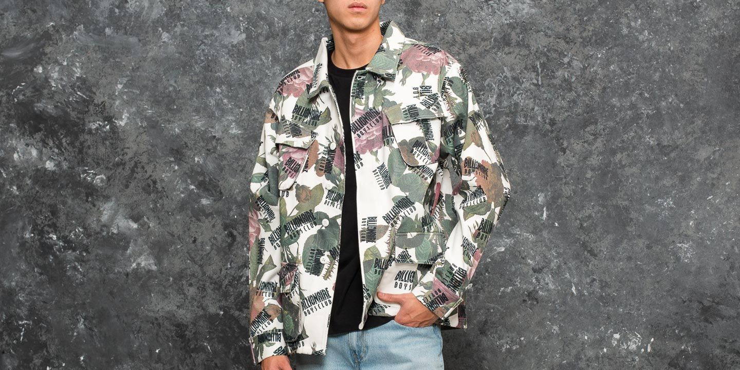 Billionaire Boys Club Repeat Print Jungle Shirt Floral