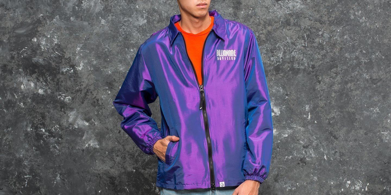 Vestes Billionaire Boys Club Iridescent Zip Jacket Purple
