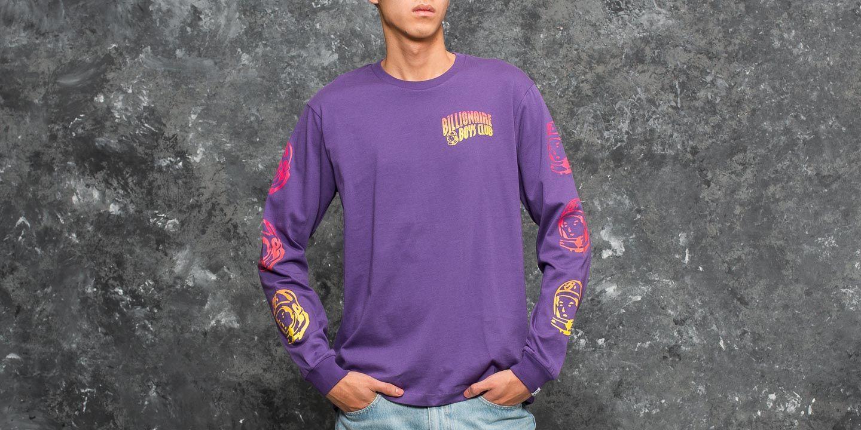 f3e8dbfe119e Billionaire Boys Club Gradient Helmet Print Longsleeve T-Shirt Purple ...