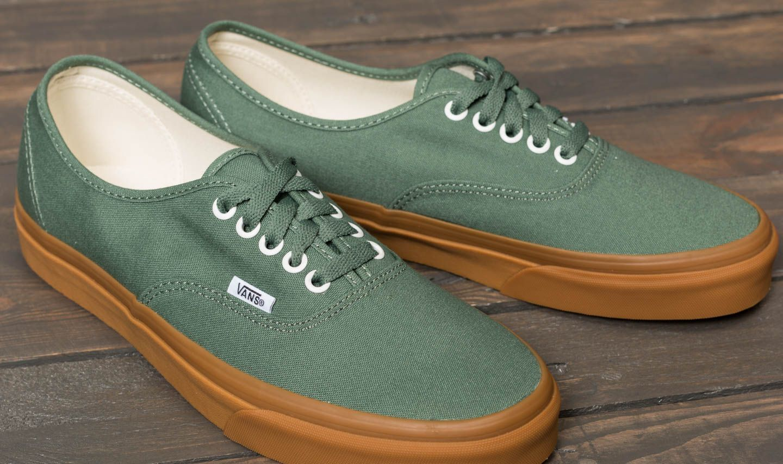 0c0338bfb98 Vans Authentic Duck Green/ Gum   Footshop