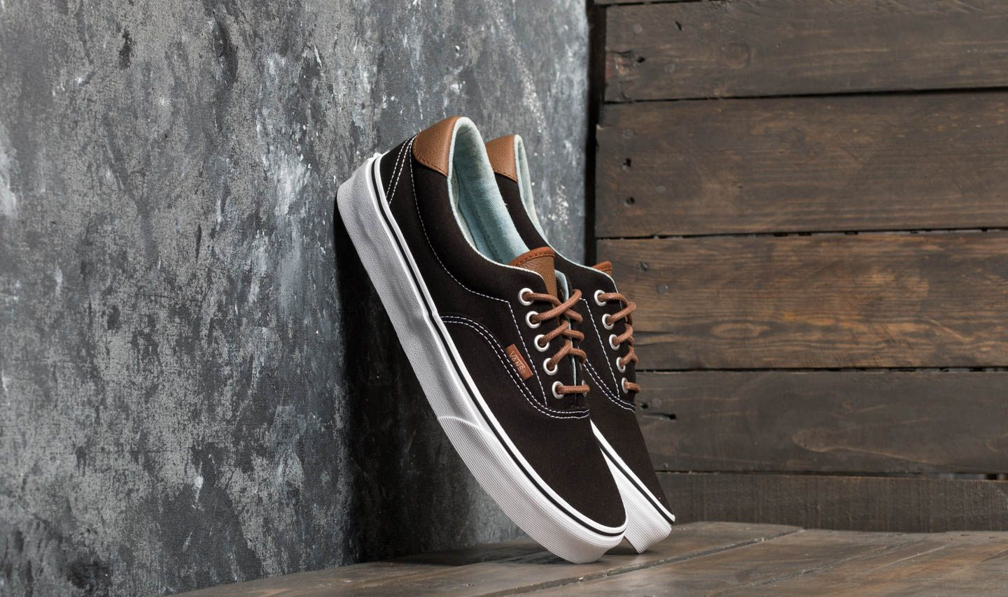 Vans Era 59 (C&L) Black/ Acid Denim