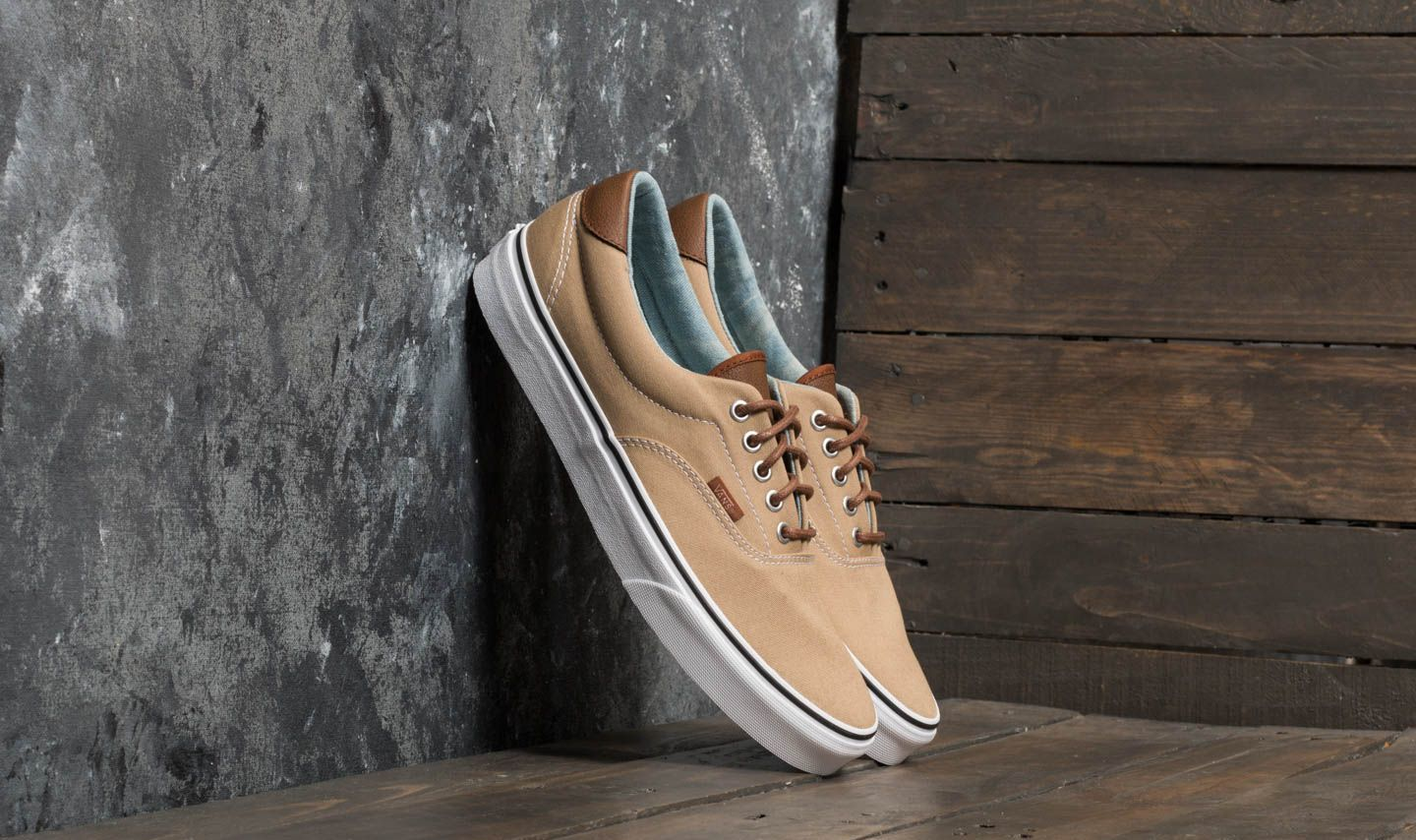 10e20f7c35d8 Vans Era 59 (Canvas   Leather) Cornstalk  Acid Denim