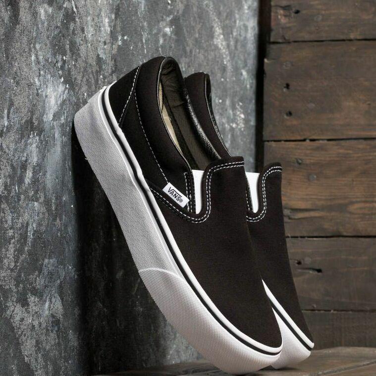 Vans Classic Slip-On Platform Black EUR 41