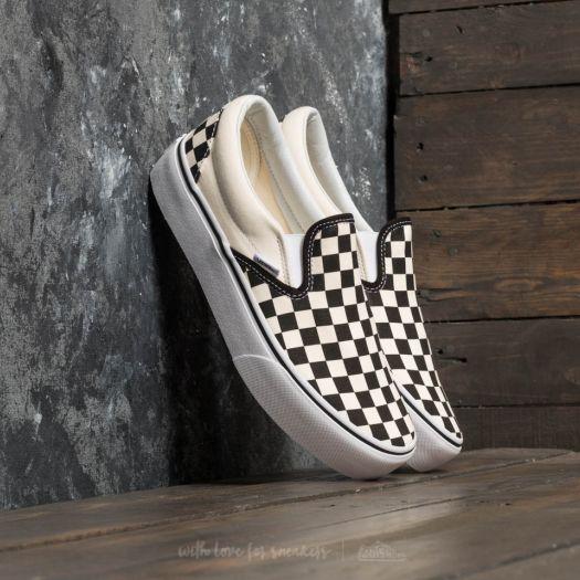 Scarpe Checkerboard Classic Slip On Platform