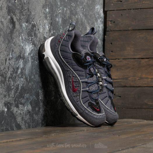 hot sale online b1f63 3b678 Nike Air Max 98 QS Thunder Blue/ Team Red | Footshop