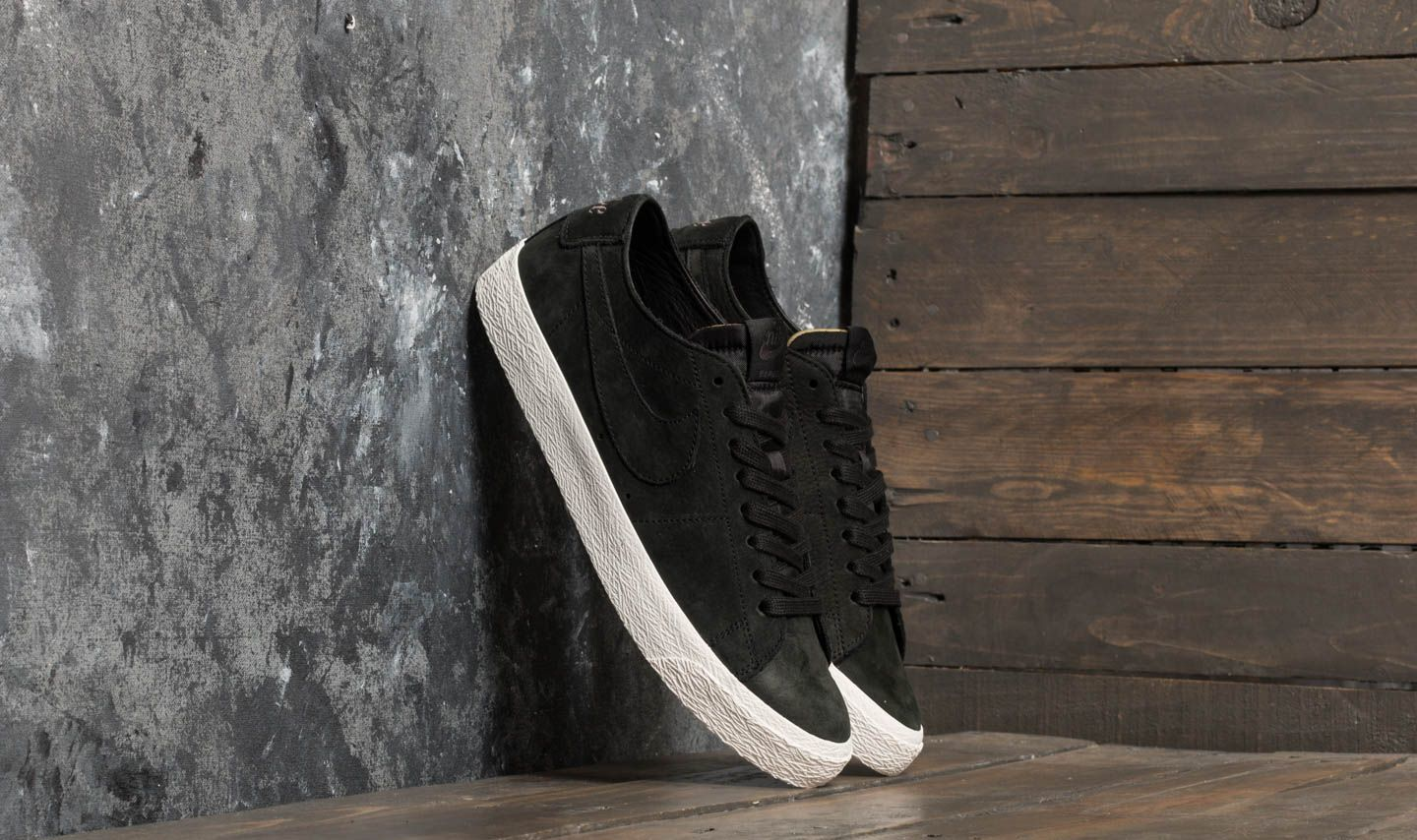 bfd85ae220d54 Nike SB Zoom Blazer Low Decon Black/ Black-Anthracite | Footshop