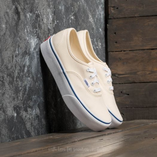 white vans authentic platform