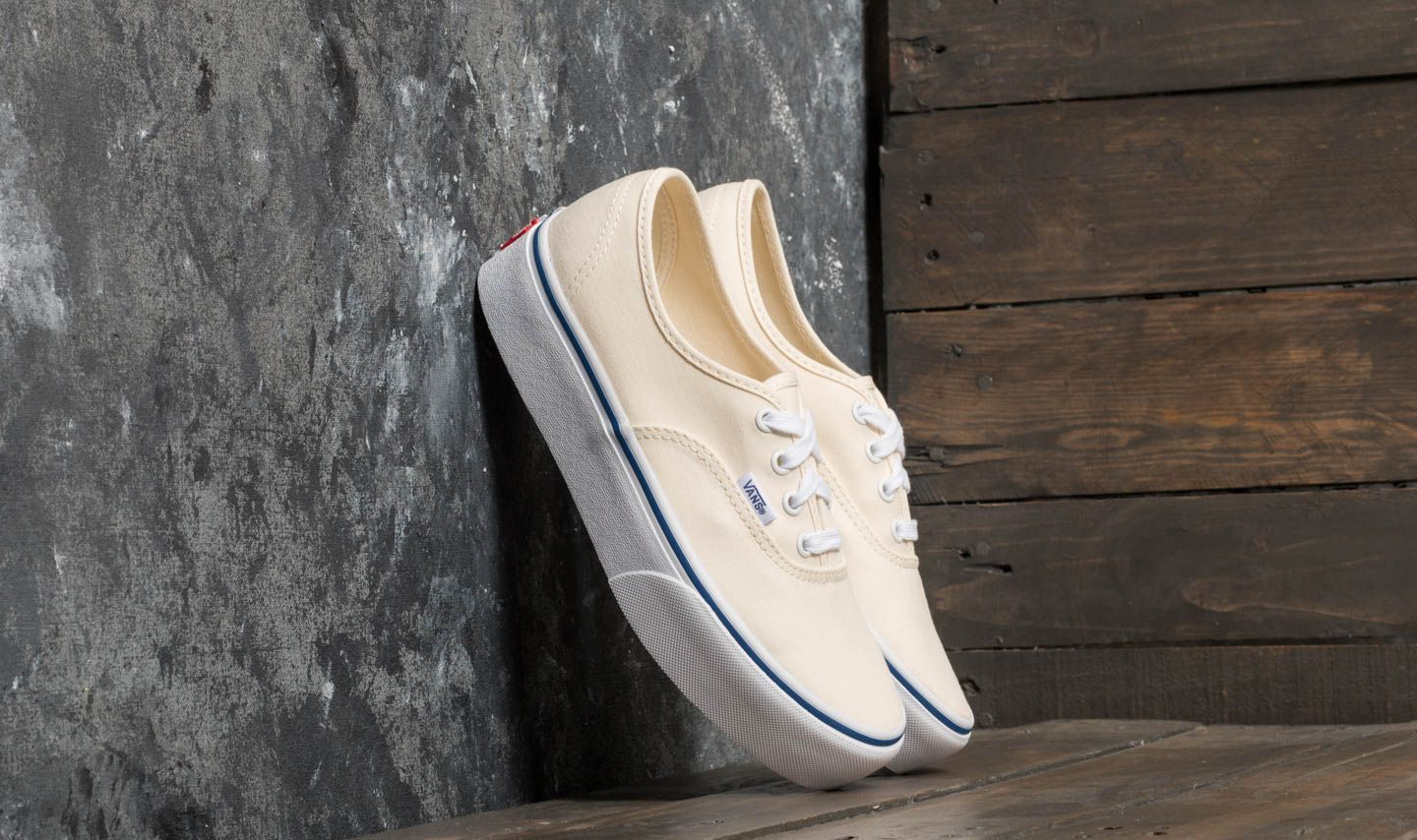 Vans Authentic Platform 2.0 (Canvas) Classic White/ True White