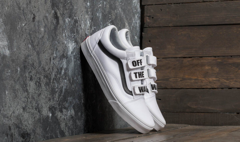 Vans Old Skool V (Off The Wall) True White | Footshop