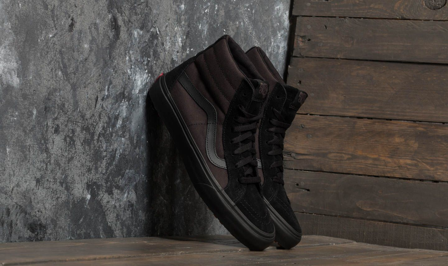 e9e89d8d96 Vans Sk8-Hi Reissue UC (Made for the Makers) Black  Black