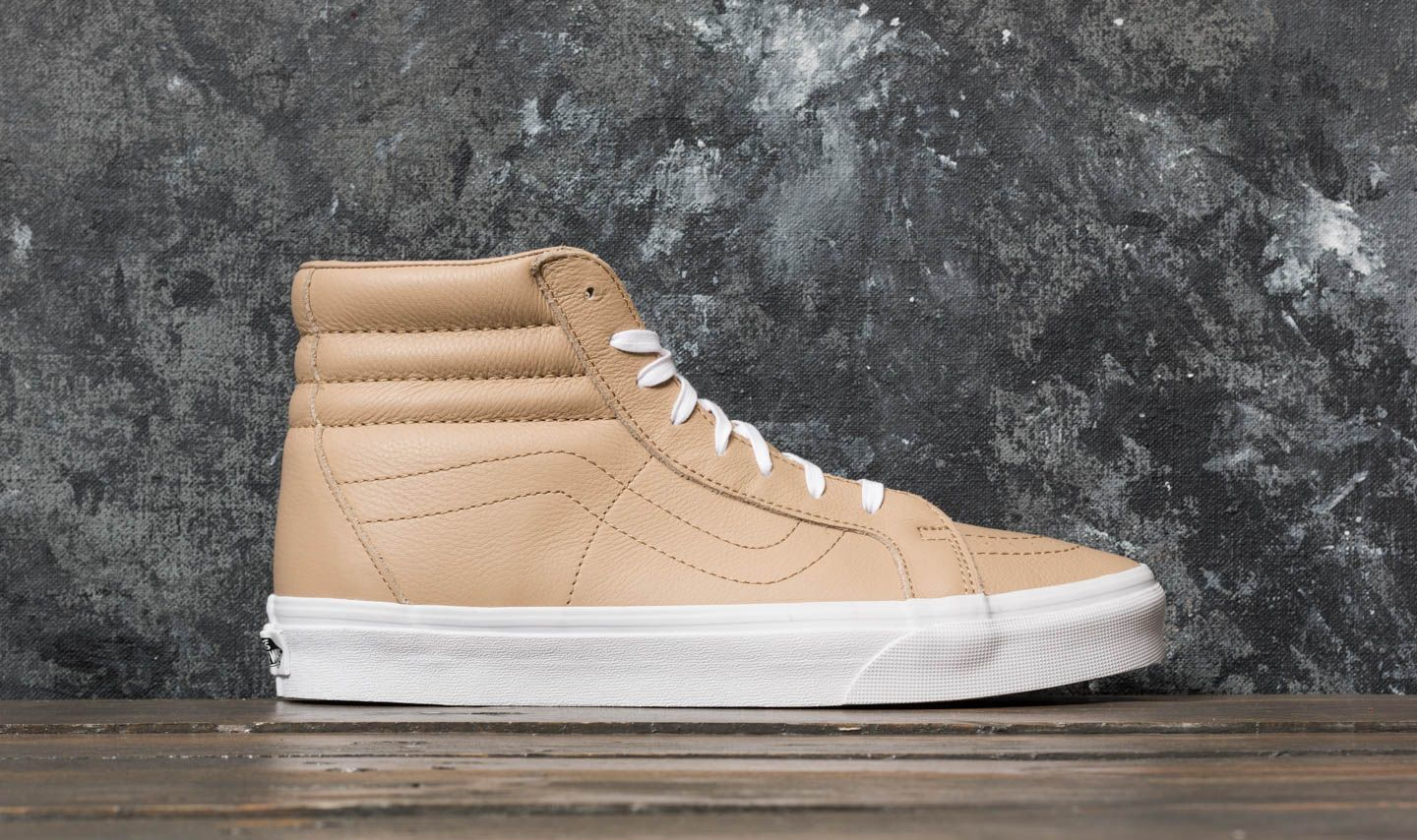 0bf9686863 Vans SK8-Hi Reissue (Leather) Sesame  True White at a great price