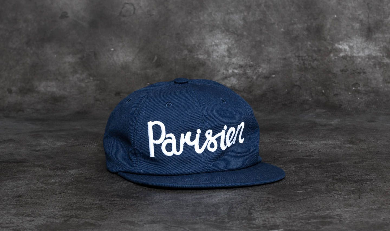 b07313f1a40 MAISON KITSUNÉ Parisien Baseball Cap Navy